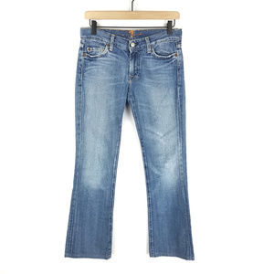 7 For All Mankind Bootcut Blue Jeans SZ 26